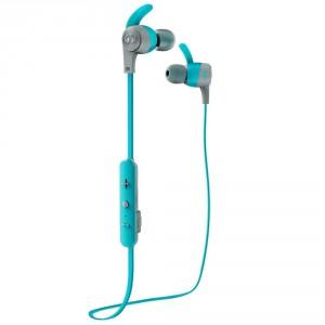 Monster Isport Achieve Bluetooth Headset Blau Wireless In-Ear Kopfhörer