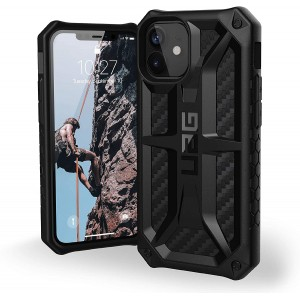 UAG Urban Armor Gear iPhone 12 mini Monarch Carbon Schwarz