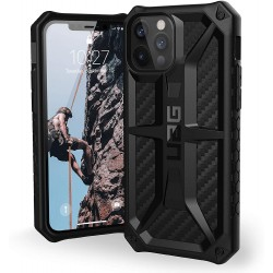 UAG Urban Armor Gear iPhone 12 / 12 Pro Monarch Carbon Schwarz
