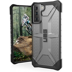 UAG Urban Armor Gear Samsung S21+ Plus Plasma Case grau transparent