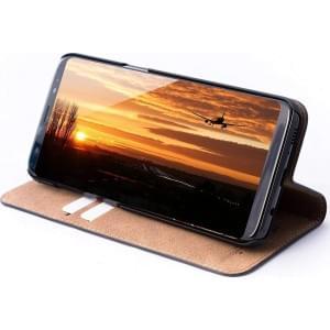 JT Berlin Ledertasche Book Tegel | Samsung Galaxy S8 | Schwarz