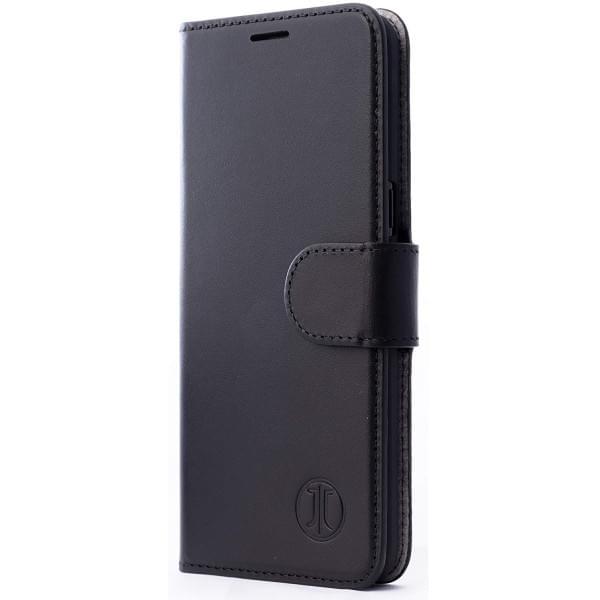 3bdd3a496a5a4 JT Berlin Book Case   Tasche Kreuzberg für Samsung Galaxy S10+ Plus Schwarz  Echtleder