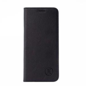 JT Berlin Book Case / Tasche Tegel für Huawei P30 Pro schwarz Echtleder