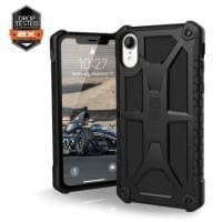 Urban Armor Gear Monarch Case | Schutzhülle für iPhone XR | Schwarz matt