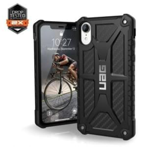 Urban Armor Gear Monarch Case | Schutzhülle für iPhone XR | Carbon