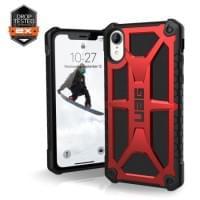 Urban Armor Gear Monarch Case | Schutzhülle für iPhone XR | Crimson Rot