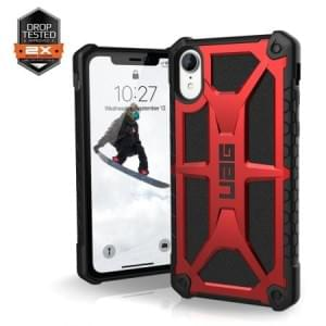 Urban Armor Gear Monarch Case | Schutzhülle für iPhone XR | Crimson Rot