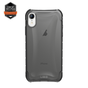 Urban Armor Gear Plyo Case | Schutzhülle für iPhone XR | Ash transparent