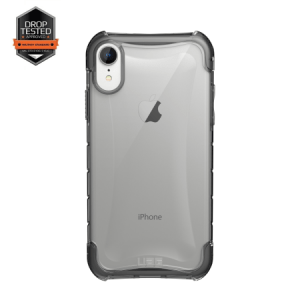 Urban Armor Gear Plyo Case | Schutzhülle für iPhone XR | Ice transparent