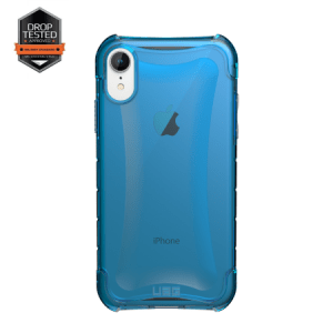 Urban Armor Gear Plyo Case | Schutzhülle für iPhone XR | Glacier blau transparent
