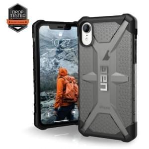 Urban Armor Gear Plasma Case | Schutzhülle für iPhone XR | Ash grau transparent