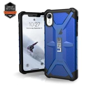 Urban Armor Gear Plasma Case | Schutzhülle für iPhone XR | Cobalt blau transparent