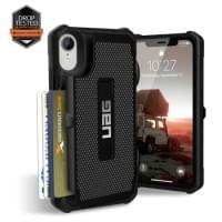 Urban Armor Gear Trooper Card Case | Schutzhülle für iPhone XR | Schwarz