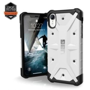 Urban Armor Gear Pathfinder Case | Schutzhülle für iPhone XR | Weiß