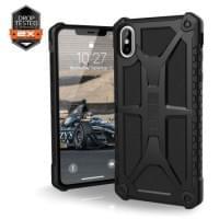 Urban Armor Gear Monarch Case | Schutzhülle für iPhone Xs Max | Schwarz matt