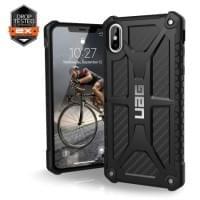 Urban Armor Gear Monarch Case | Schutzhülle für iPhone Xs Max | Carbon
