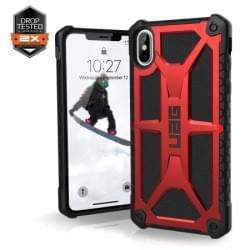 Urban Armor Gear Monarch Case   Schutzhülle für iPhone Xs Max   Crimson Rot