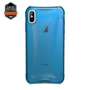 Urban Armor Gear Plyo Case | Schutzhülle für iPhone Xs Max | Glacier blau transparent