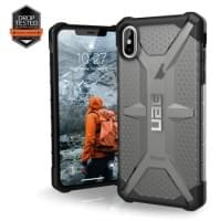 Urban Armor Gear Plasma Case | Schutzhülle für iPhone Xs Max | Ash grau transparent