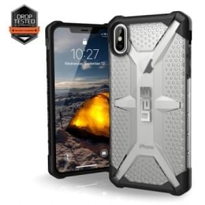 Urban Armor Gear Plasma Case | Schutzhülle für iPhone Xs Max | Ice transparent