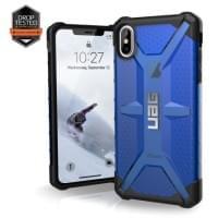 Urban Armor Gear Plasma Case | Schutzhülle für iPhone Xs Max | Cobalt blau transparent