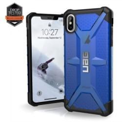 Urban Armor Gear Plasma Case   Schutzhülle für iPhone Xs Max   Cobalt blau transparent