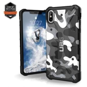 Urban Armor Gear Pathfinder Case | Schutzhülle für iPhone Xs Max | Weiß / Camo