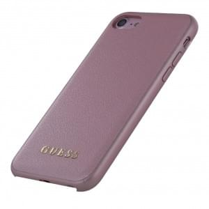 Guess Iridescent Hardcover / Hülle für Apple iPhone 8 / 7 Rose
