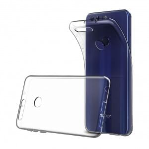 Ultra Dünn Silikon Schutzhülle für Huawei Honor 8 Transparent