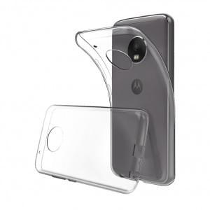 Ultra Dünn Silikon Schutzhülle für Motorola G5 Transparent