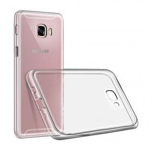 Ultra Dünn Silikon Schutzhülle für Samsung Galaxy J3 (2017) Transparent