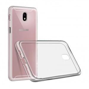 Ultra Dünn Silikon Schutzhülle für Samsung Galaxy J7 (2017) Transparent