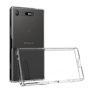 Ultra Dünn Silikon Schutzhülle für Sony Xperia XZ1 Transparent