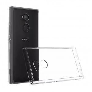 Ultra Dünn Silikon Schutzhülle für Sony Xperia XA2 Transparent