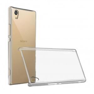 Ultra Dünn Silikon Schutzhülle für Sony Xperia XA1 Transparent