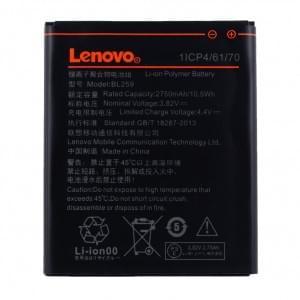 Original Lenovo Akku BL-259 für Lenovo Lemon K3, K5 Plus, K32, C30 mit 2750mAh