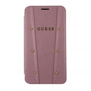 Guess Kaia Tasche / Book Cover für iPhone XR - Rose Gold