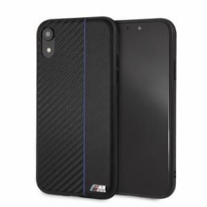 BMW M-Collection Bi-Material Carbon Schutzhülle für iPhone XR - Navy