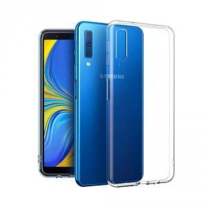 Ultradünn Hülle für Samsung Galaxy A7 (2018) Transparent