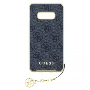 Guess Charms Hard Case / Hülle für Samsung Galaxy S10e Grau