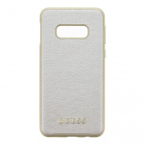 Guess Iridescent Hard Case / Hülle Samsung Galaxy S10e Gold
