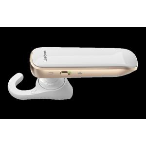 Jabra Boost Bluetooth Headset Kopfhörer Weiß / Gold