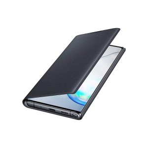 Original Samsung EF-NN975 LED View Cover / Tasche Note 10+ Plus Schwarz