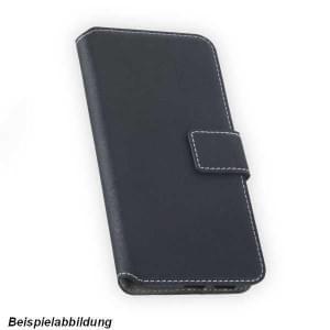 BookStyle Handytasche für Samsung Galaxy A6 Plus (2018) schwarz