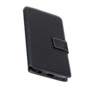 Book Style Handytasche für Motorola Moto G6 Schwarz