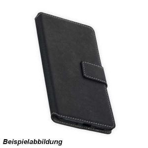 BookStyle Handytasche für Nokia 3.1 Plus schwarz
