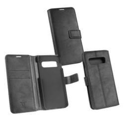 BookStyle Tasche für Samsung Galaxy S10+ Plus schwarz