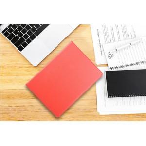 """Book Tablet Tasche für iPad 9.7"""" 2018 mit Standfunktion 360 Grad drehbar Rot"""