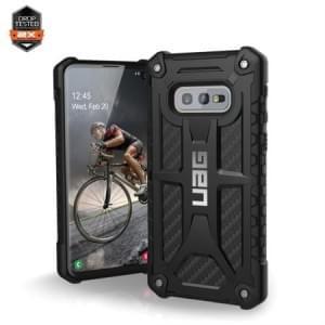 Urban Armor Gear Monarch Case / Cover / Hülle Samsung Galaxy S10e Carbon