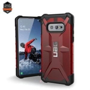 Urban Armor Gear Plasma Case / Cover / Hülle Samsung Galaxy S10e magma rot transparent